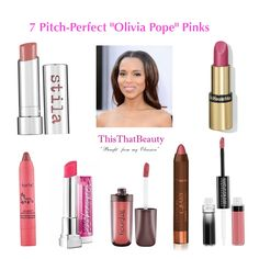 Just what I was looking for! 7 Pitch-Perfect Olivia Pope Pinks #lipsticks