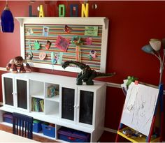 Colorful play area