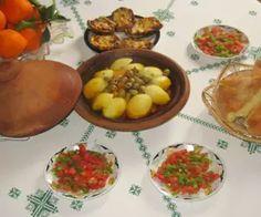 Tajine mit Rindfleisch und Gemüse