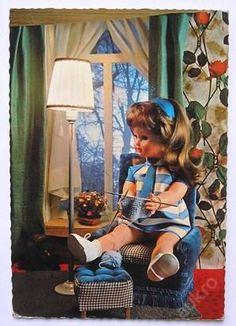 Photo Illustration, Vintage Dolls, Vintage Postcards, Childhood, 3d, Retro, Toys, Style, Activity Toys