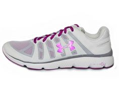 Under Armour Micro G Pulse Ii Sz 7.5 Womens Running Shoes White New In Box ** You can get more details by clicking on the image.