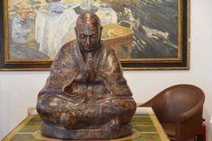 Moine bouddhiste du tibet, fin XIXeme siècle. http://www.marche-dauphine.com/Galerie-prince/