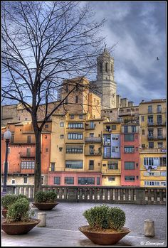 "Girona Catalonia. The city of the best restaurant in the world 2014 "" El Celler de Can Roca"""