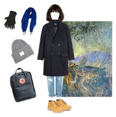 """""""Untitled #41"""" by jourdemiel on Polyvore featuring Topshop, Fjällräven, Nordstrom, Timberland, Acne Studios and M&Co"""