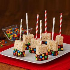 The Original Rice Krispies Treats™ Recipe Rice Krispies, Rice Crispy Treats, Krispie Treats, Party Treats, Party Snacks, Luau Party, Kindergarten Snacks, Marshmallow Cereal, Buffet Dessert