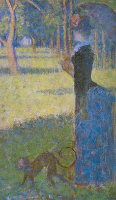 Georges Seurat, Lady with a Monkey