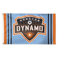 Prove that you're the ultimate Houston Dynamo fan with this Deluxe flag from WinCraft! It features authentic Houston Dynamo graphics that'll make your fandom obvious. No one will mistake your die-hard Houston Dynamo pride with this flag! Soccer Flags, Sports Flags, Mls Soccer, Texas A M Football, Houston Dynamo, Mexico Soccer, Sports Merchandise, Fc Dallas, Flags For Sale
