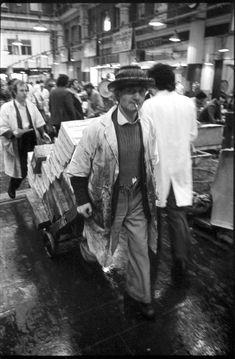 Roy Reed At Billingsgate Market 1975 [more photos]   Spitalfields Life