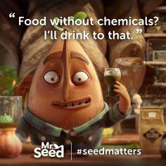 Organic plant breedi