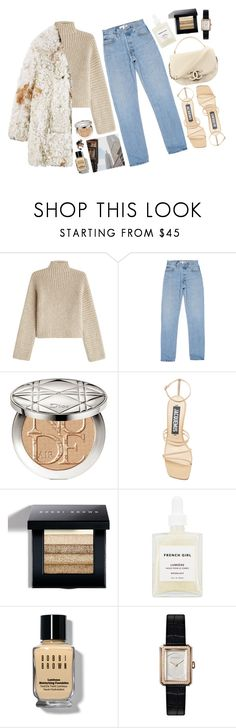 """""""January 11"""" by mariimontero ❤ liked on Polyvore featuring Rosetta Getty, Christian Dior, Jacquemus, Bobbi Brown Cosmetics, Chanel and French Girl"""