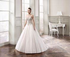 Eddy K. Wedding Gown MD182  #bride #bridal #gown