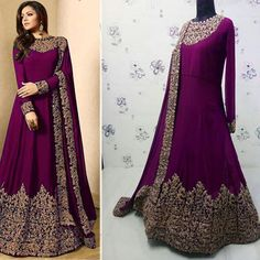 Image may contain: 1 person, standing Shadi Dresses, Pakistani Dresses, Indian Dresses, Indian Outfits, Frock Dress, Dress Attire, Anarkali Dress, Indian Designer Outfits, Designer Dresses