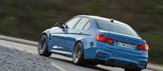 2015 BMW M3 - Action Rear 3/4 - 4