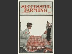 "December 1910, ""Christmas morning"" ... download as a PDF and frame! 