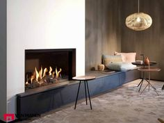 Home Decorating DIY Projects: kal fire fireplace - Wood Burning Fireplace Inserts Home Fireplace, Dining Room Design, Room Seating, Living Room Modern, Fireplace Design, Home Decor, House Interior, Fireplace Decor, Fireplace
