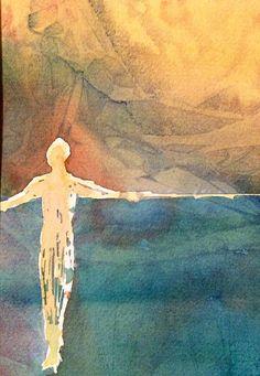 Single Célibataire  une aquarelle originale de Manon Abstract Backgrounds, True Colors, Watercolors, Original Artwork, The Originals, Prints, Painting, Originals, Watercolor Painting