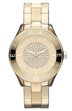 AX Armani Exchange Round Bracelet Watch, 40mm (Online Only) available at #Nordstrom