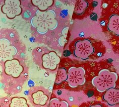 """Would you like these Cherry Blossom washi papers FREE?  While i was in Japan, i got some marvelous washi papers, and I'll be giving away 2 sets of 4x4"""" squares as part of this event.  Just 'like' or 'repin' this post by the start of the event, May 25.  Then join me starting May 25 in embracing the cherry blossom! New artwork, free projects, new products, video and chat!  mark your calendars.    #christifriesen #sakura #polymer #cherryBlossom #sculpture #onlineArtEvent"""