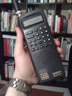 Radio scanners find short-lived broadcasts by monitoring 2 or more channels. The user can then listen or continue scanning. Radios, Ham Radio License, Hf Radio, Police Radio, Emergency Supplies, Best Camera, Camera Phone, Abandoned Castles, Abandoned Mansions