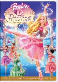 Barbie in The 12 Dancing Princesses DVD ~ Kelly Sheridan, http://www.amazon.com/dp/B000GGSMNK/ref=cm_sw_r_pi_dp_ROO2qb1GBVN48