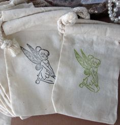 Tinkerbell Birthday Party Favors 10 Disney by lifeissobeautiful, $11.50
