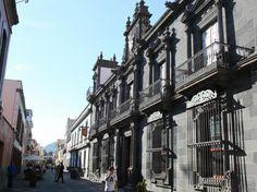 Casa Salazar, sede el Obispado en el centro histórico de La Laguna
