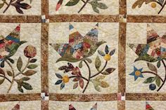 Edyta Sitar quilt. Batiks and reproduction fabrics used together. Quilts In The Barn.