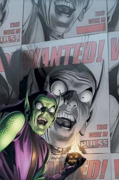 Green Goblin by Mike Mayhew