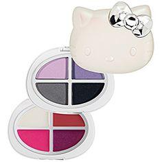 Hello Kitty - Say Hello Palette - Super Fun  #sephora Thurs: Pink Bow Beauty #SephoraHelloKitty