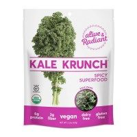 """Check out this product I found on iHerb.com. Optional(""""Alive & Radiant, Organic Kale Krunch, Spicy Superfood, 2.2 oz (62 g)"""")"""