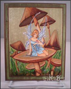 Meredith Dillman Fairies | Midnight Pixy Designs: Mushroom Fairy