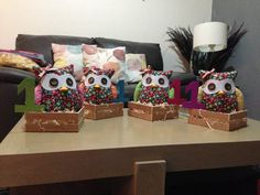 CENTER TABLE OWL PARTY!