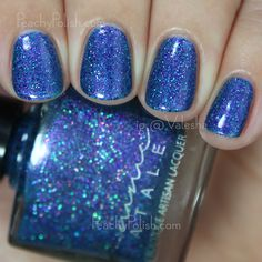 Femme Fatale Cosmetics Twinkle Twinkle | The Mad Tea-Party Collection | Peachy Polish