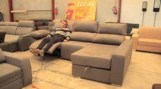 Ecksofas & Eckcouches - New ideas Living Room Sofa Design, Living Room Furniture Arrangement, Living Room Designs, Bed Furniture, Modern Furniture, Furniture Design, Furniture Ideas, Reclining Sectional, Chaise Sofa
