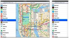 AllSubway HD.  Takes the confusion out of confusing undergrounds.  The travel app features subway maps for about 128 different cities around the world.  Each map is available offline, which is perfect for navigating from the depths of the metro.
