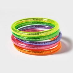 Glitter Tube Bracelet Set  Write a review  Write the first review  $5.50 Now $2.75