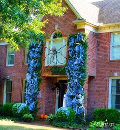 @greygreydesigns Halloween home decor inspiration.