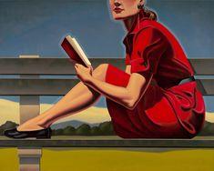 Nada como un rojo Campari en un vestido. Nada.