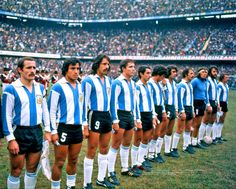 Argentina Football Team, Argentina Team, Samba, Tango, Legends Football, Team Photos, Lineup, Villa, Campione