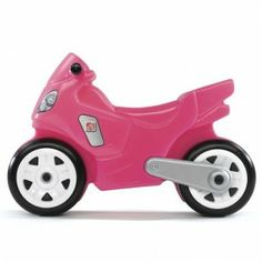 Step2 Motorcycle Pink - Tricycles, Scooters & Wagons #Kid #Kids #Toy #Toys #Christmas #Holiday #Holidays #Wish #Wishlist #Child #Children #Tricycles #Scooters #Wagons #Rides #Gift #Gifts #Present #Presents #Idea #Ideas $29.99