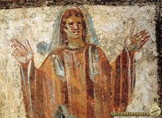 Catacumba de Giordani. Sacerdotisa Siglo III. Copyright: (C) ARTEHISTORIA