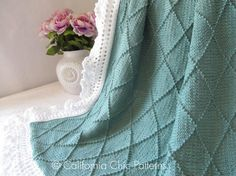 Hey, I found this really awesome Etsy listing at https://www.etsy.com/listing/150698758/knit-baby-blanket-pattern-63-paris