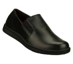 Womens Black Non Slip Work Shoes