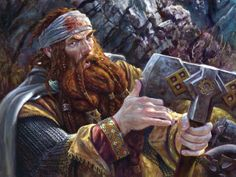 Another awesome portrait of Gimli.