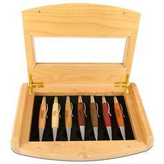 Personalizable Seven Dwarfs Pen Set by Arribas - 7-Pc.