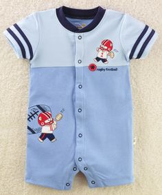 One-pieces romper for baby boys america football rugby Baby Clothes toddler shirts body suit. Boys Summer Outfits, Toddler Boy Outfits, Toddler Fashion, Kids Outfits, Newborn Boy Clothes, Baby Kids Clothes, Baby Boy Dress, Baby Jumpsuit, Baby Wearing