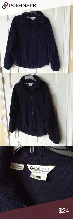 COLUMBIA FLEECE JACKET In great condition. COLUMBIA Fleece Jacket. Size M ❤️ Columbia Jackets & Coats