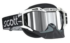Scott USA Voltage Pro Air Snow Cross Goggles , Color: White/Silver Lens 217788-0002015 * Read more  at the image link.