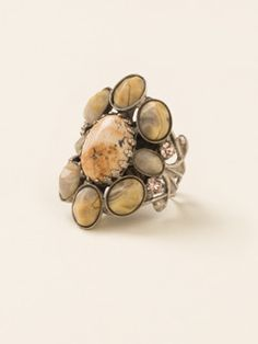 Oval Semi-Precious Ring in Sand Dune by Sorrelli - $55.00 (http://www.sorrelli.com/products/RDE2ASSND)