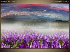 Tlačený obraz Nádherná panoráma krajiny 2027A_1T